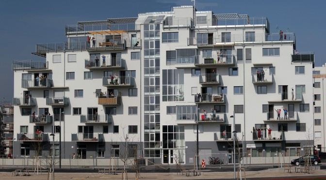Seestadt Aspern – Bauträger Gemeinschaft B.R.O.T. Aspern – Einweihung Wohnheim
