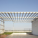 B.R.O.T. Aspern (© Daniel Nuderscher) Dachterrasse mit Skybox