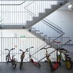 B.R.O.T. Aspern (© Daniel Nuderscher) Stiegenhaus