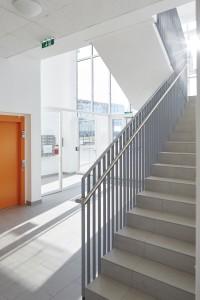 B.R.O.T. Aspern (© Daniel Nuderscher) Eingangsbereich